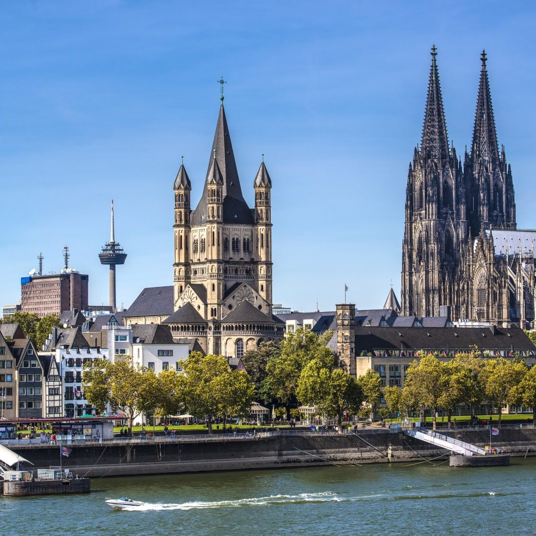 Cologne Cathedral Rhine