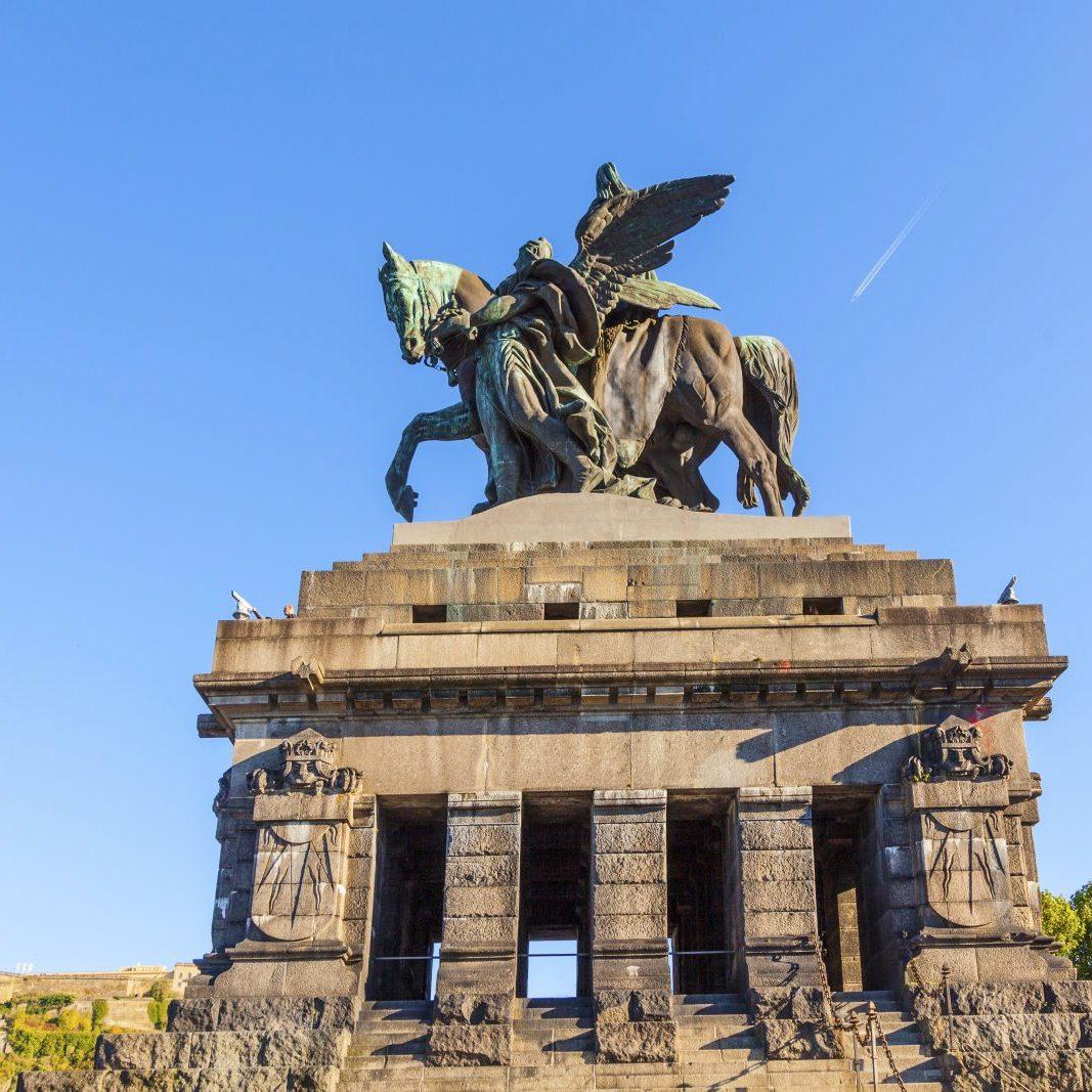 The Kaiser Wilhelm memorial, Koblenz