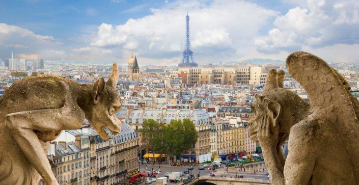 Paris & Notre Dame Grotesques