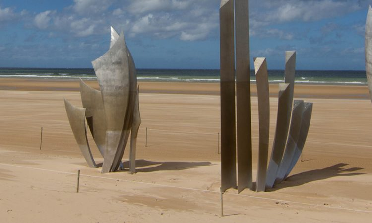 Les Braves, Omaha Beach, Normandy