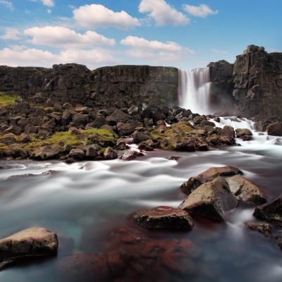 Oxararfoss, Thingvellir