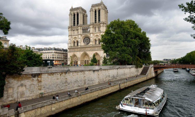 Notre Dame & The Seine
