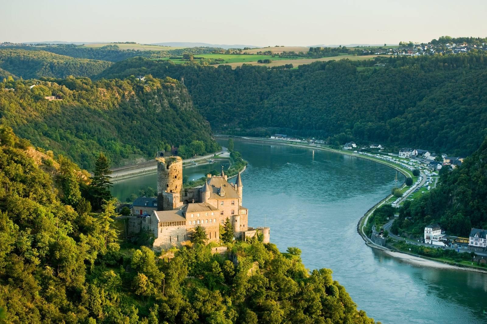 رود راین در کشور آلمان