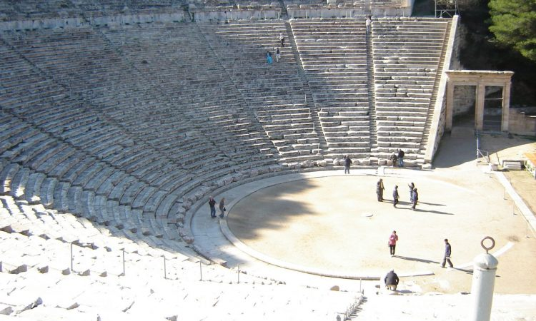 Theatre at Epidaurus, Greece