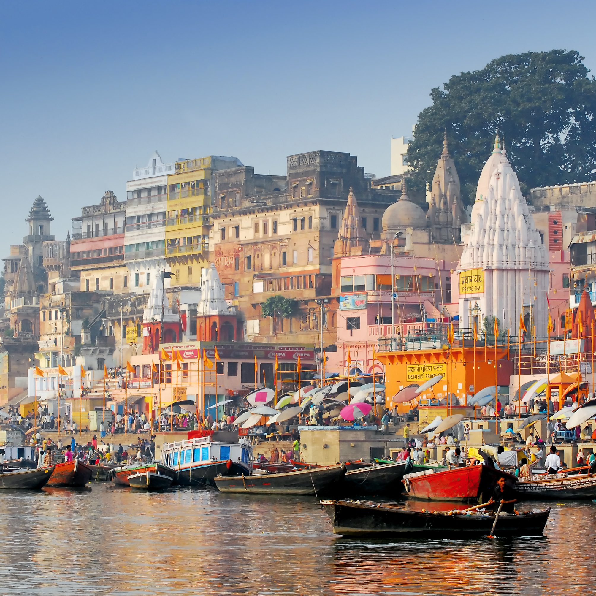 Boats in Varanasi