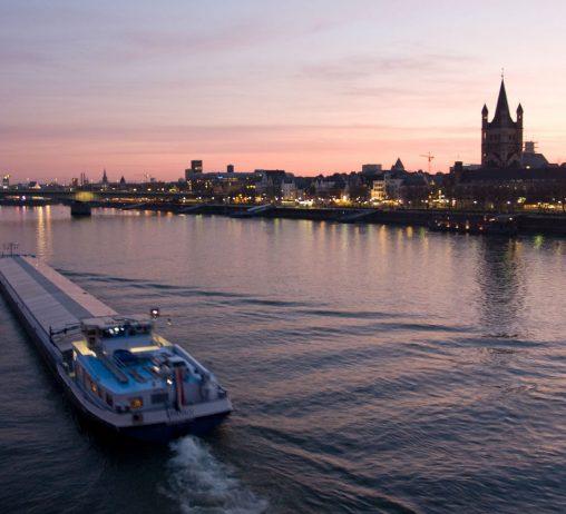 The Rhine at Dusk