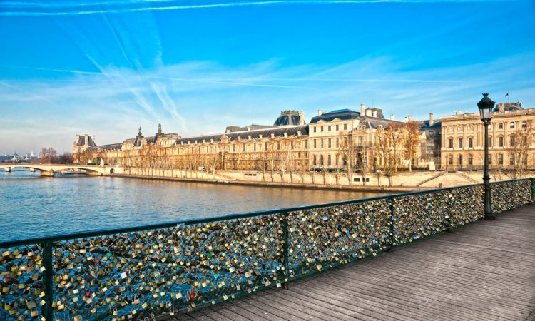 Pont Des Arts & The Louvre, Paris
